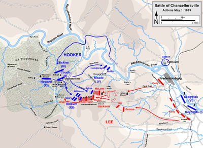 Chancellorsville May 1, 1863